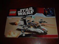 LEGO Star Wars 7668 Rebel Scout Speeder Instruction Manual