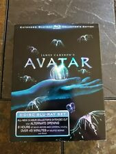James Cameron's AVATAR (2010 3-disc Blu-Ray) Extended Collector's Edition