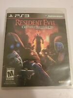 Resident Evil: Operation Raccoon City (Sony PlayStation 3, 2012) Complete.