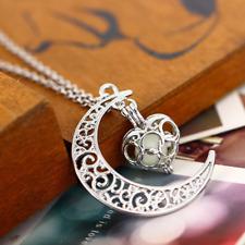 Collana Luna Moon Celtica Wicca Magia Fantasy Universe Spazio Stelle Celtic