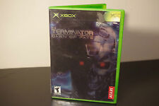 Terminator: Dawn of Fate (Xbox, 2002) *Tested / Complete