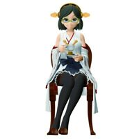 Kantai Collection Ceylon Tea Fiesta Kirishima PVC Figura Banpresto