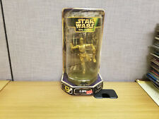 Kenner Star Wars Epic Forces C-3PO Figure on Rotating Base, Brand New!