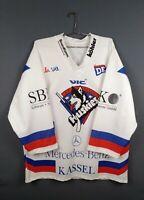 5/5 EC Kassel Huskies jersey 2XL hockey shirt Germany vintage retro ig93