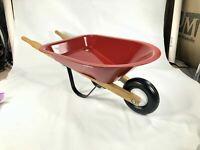 Set Of 5 Doll Size Radio Flyer Scooter Tricycle Bike Wagon Wheelbarrow Sled