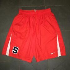 New listing New Nike Syracuse Orange Lacrosse Game Shorts LG ORANGE