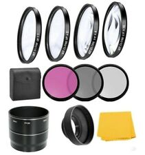 Macro Close-up Filter Kit & UV-CPL-FLD Filters For Nikon Coolpix P7700 P7800
