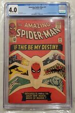 Amazing Spider-Man #31 CGC 4.0 1st Appearance Gwen Stacy and Harry Osborn