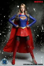 SUPER DUCK 1/6 Supergirl Female Hero Clothes Melissa Benoist Figure Accessories