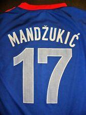 Mario Mandzukic youth small Croatia soccer jersey World Cup football shirt