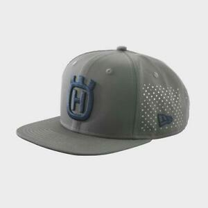 Husqvarna Motorcycle New Era 9Fifty Snapback Hat / Dark Gray Size Small / Medium