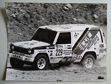 "MITSUBISHI ""Pajero"" @ Paris - Cape Town Rally - 1992 - Set 5 large works photos"