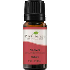 Plant Therapy Vetiver Essential Oil 100% Pure, Undiluted, Natural Aromatherapy