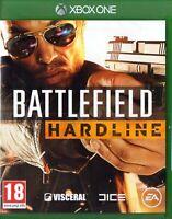 BATTLEFIELD HARDLINE - XBOX ONE - NEW SEALED - SAME DAY DISPATCH