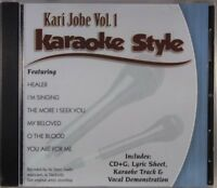 Kari Jobe Volume 1 Christian Karaoke Style NEW CD+G Daywind 6 Songs