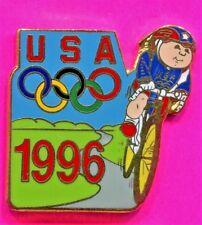 1996 OLYMPIC PIN CYCLING PIN USA CYCLING PIN CABBAGE PATCH KIDS Atlanta Games