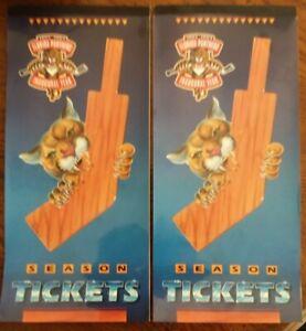 Florida Panthers Inaugural Year 1993 94 Season Ticket Books NHL Hockey