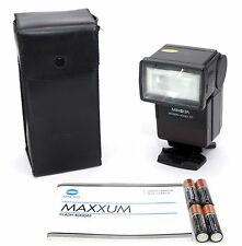 MINOLTA MAXXUM 4000AF FLASH!! 90-DAY WARRANTY!! EXCELLENT PLUS CONDITION!!