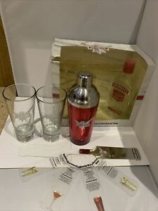 Smirnoff At Home Cocktail Set- Cocktail Shaker, 2x Branded Glasses, Recipe Cards