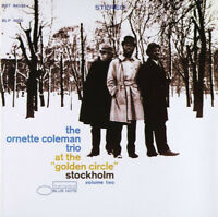 "The Ornette Coleman Trio ‎– At The ""Golden Circle"" Stockholm - Vol Two CD USED"