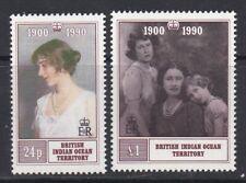 British Indian Ocean Territory 1990 90th Birthday Queen Mother MNH CV £7.50