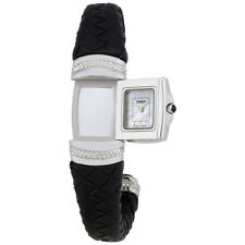 Fendi Spy Mother of Pearl Dial Ladies Bangle Watch F901241