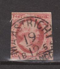 NVPH Nederland nr 2 TOP CANCEL MAASTRICHT (b-2) 1852 1e emissie Willem III