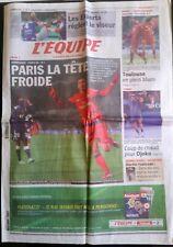 L'Equipe Journal 21/01/2013; Handball; Islande-France 28-30/ Bordeaux-PSG/ Djoko