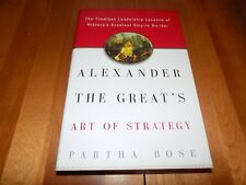 ALEXANDER THE GREAT ART OF STRATEGY Empire Ancient Wars  FIRST EDITION Book NEW