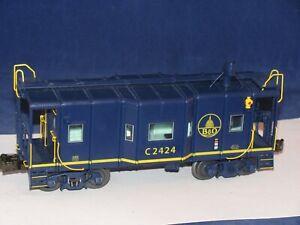 LIONEL BALTIMORE & OHIO (B&O) 1-12 CABOOSE # 27635 WITH SMOKE & BOX