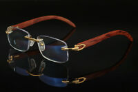 Vintage Rimless Reading Glasses Progressive Multi Focus Readers Business 1.0~3.0