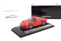 #410067170 - Minichamps Porsche 911 (991.2) Turbo S - Indischrot - 2017 - 1:43