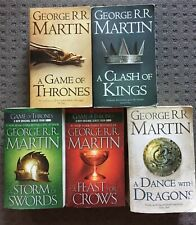 A Game Of Thrones + 4 (A Song of Ice and Fire) by George R R Martin