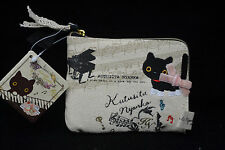 San-X Kutusita Nyanko Cat Slim Wallet Piano