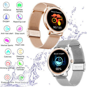 Smart Watch Mens Women Lady Bracelet Heart Rate Fitness Tracker For iOS Android