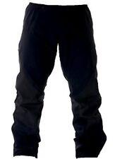 BLACK WATERPROOF WINDPROOF TROUSERS Mens XS pants gents hiking walking bottoms