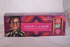 NEW Sealed Loop De Loom Weaving With Loom & Yarn Make Scarves Purses