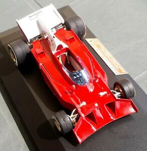 Ferrari TAMEO F1 312 B3 Spazzaneve 1 43 Press Version 1972 Handbuilt Box