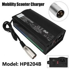 HP8204B 24V 5A Mobility Scooter Charger Electric wheelchair Battery Adapter