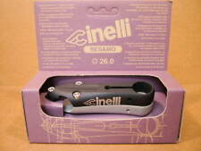 New-Old-Stock Cinelli Sesamo Stem...Black/Silver Finish w/Silver Decals (100 mm)