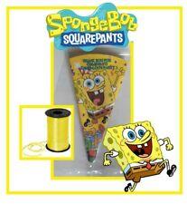 10 SPONGEBOB SQUARE PANTS/party/sweet cones/kit/boys girls birthday personalised