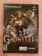 Gauntlet: Seven Sorrows Sony Playstation 2 PS2 Black Label NO MANUAL TESTED