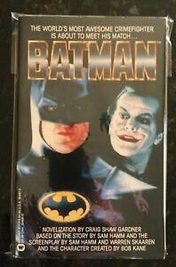 1989 Batman the Movie Paperback NM- 9.2