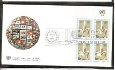 United Nations NY SC 250 UN Headquarters FDC. UNPA