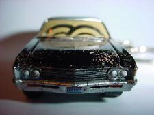 NEW 3D BLACK SUPERNATURAL 1967 CHEVROLET IMPALA CUSTOM KEYCHAIN keyring key DIRT
