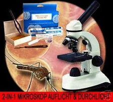 2-IN-1 AUFLICHT & DURCHLICHT MIKROSKOP/MICROSCOPE FORSCHUNG UNIVERSITÄT MK2