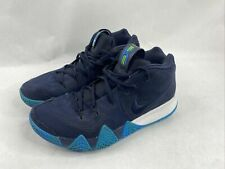 Nike Kyrie 4 Obsidian Basketball Shoes 943806-401 Men's Size 10 FREE SHIPPING