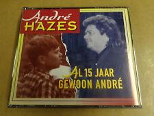 2-CD BOX / ANDRE HAZES - AL 15 JAAR GEWOON ANDRE