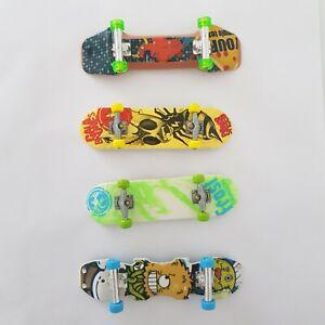 Fingerboard bundle x4 - Trick Power (Frost  Cala Brones) , Skate City & Other