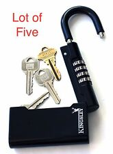 Guard-a-Key Key Storage Lock (Lot of 5) - Real Estate Lock Box, Realtor Lockbox